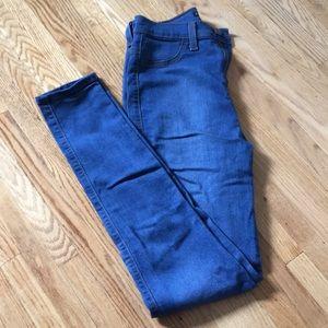 Very high rise medium wash Fashion Nova jeans.